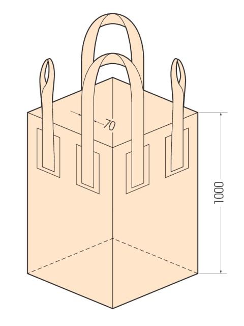 コンテナバッグ KS-6-0.8 (10枚入り)