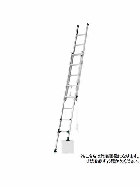 伸縮脚付2連はしご ANE-34FX
