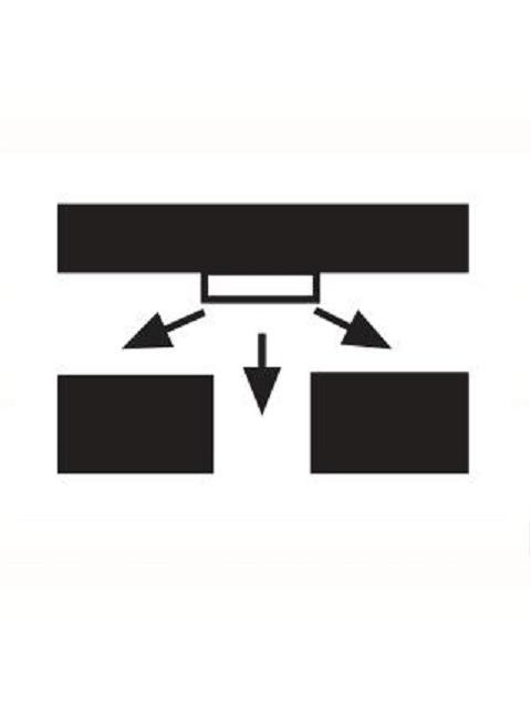 角型広角ミラー