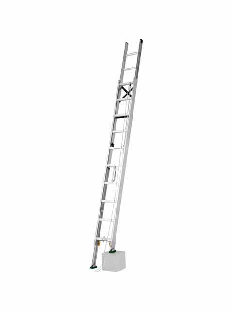 伸縮脚付2連はしご MDE-57D