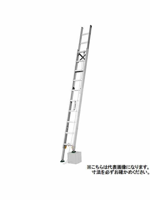 伸縮脚付2連はしご MDE-64D