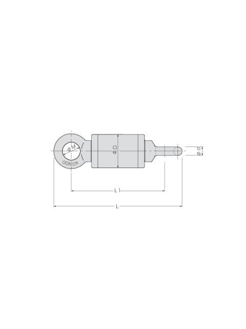 KTスイベル KSS型 (ワイヤロープ用ベアリングスイベル)