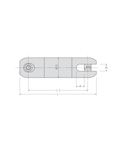 KTスイベル KED型 (ワイヤロープ用ベアリングスイベル)