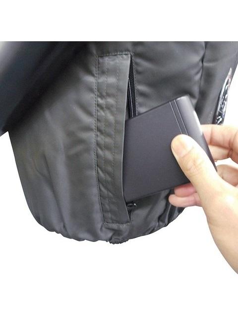 高密度 空調ベスト フルセット フルハーネス対応