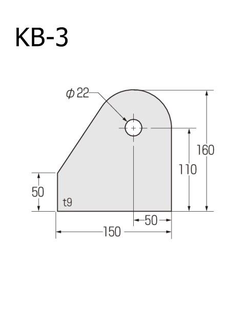 ブレースシート 仮設ハウス用 穴径22mm (ケース販売)