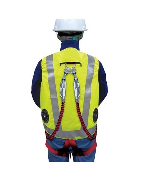 高視認性 安全空調ベスト フルセット(ハーネス対応)