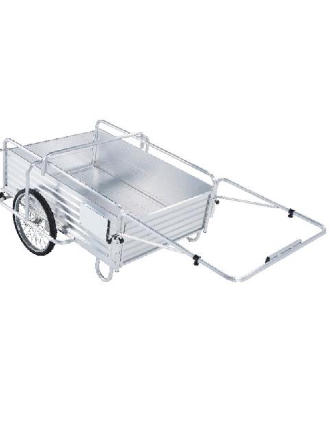 折畳式アルミ製リヤカー AOR-150