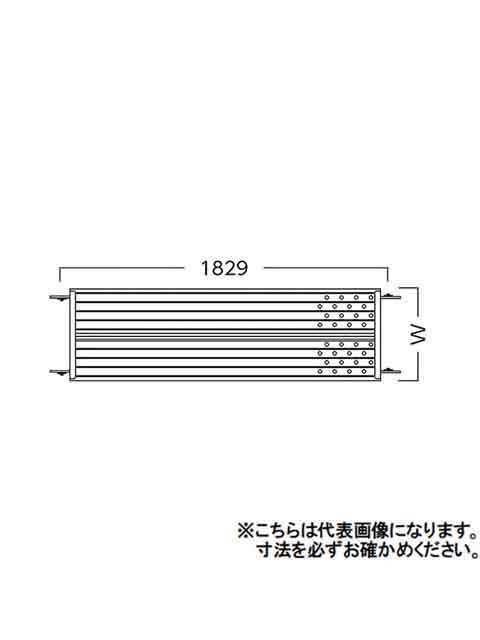ローリングタワー(移動式足場) RT用 400幅床付き布枠(内爪) THK418N