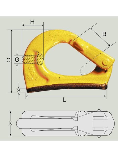 マーテック バケットフック UKN型