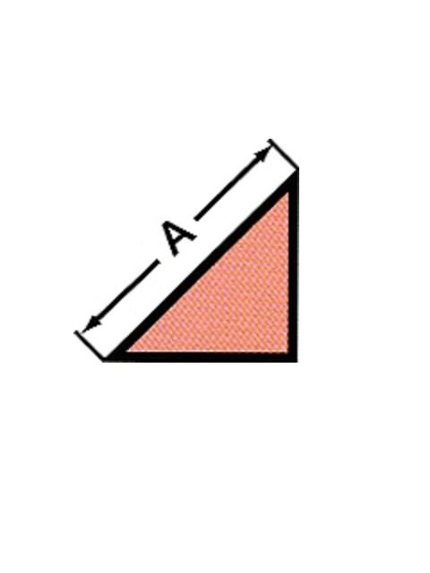 発泡面木 直角