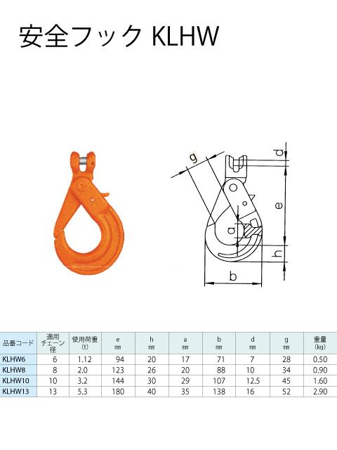 チェーンスリング 2本吊り 安全フック付 S-WP2 長さ調整可能