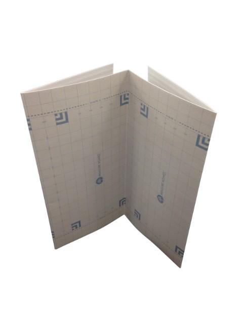 メジャーボード®2つ折りタイプ 10枚セット サイズ:厚み3mm×幅900mm×長さ1800mm