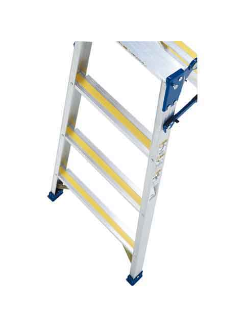 スベリ止めラバー付はしご兼用脚立 MXJ-210F