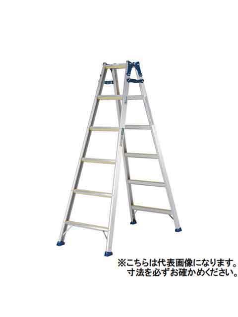 スベリ止めラバー付はしご兼用脚立 MXJ-60F