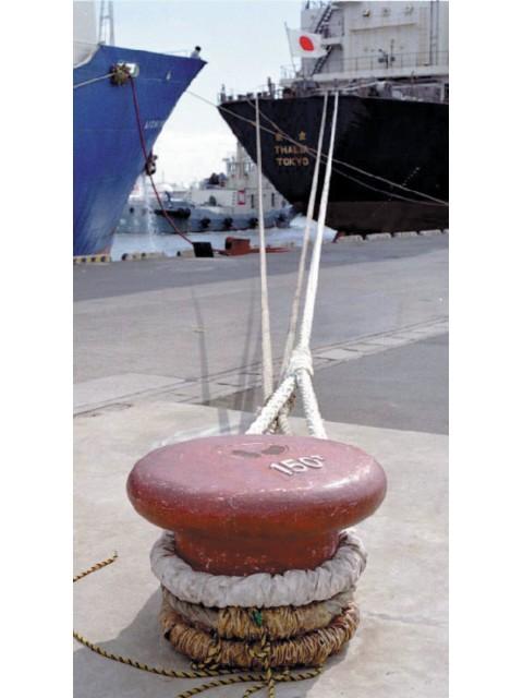 けい船柱 直柱