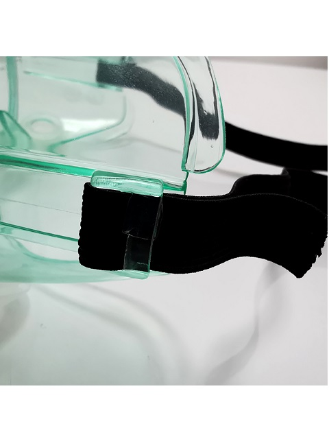 SKELETON/ベンチレーター付き安全ゴーグル