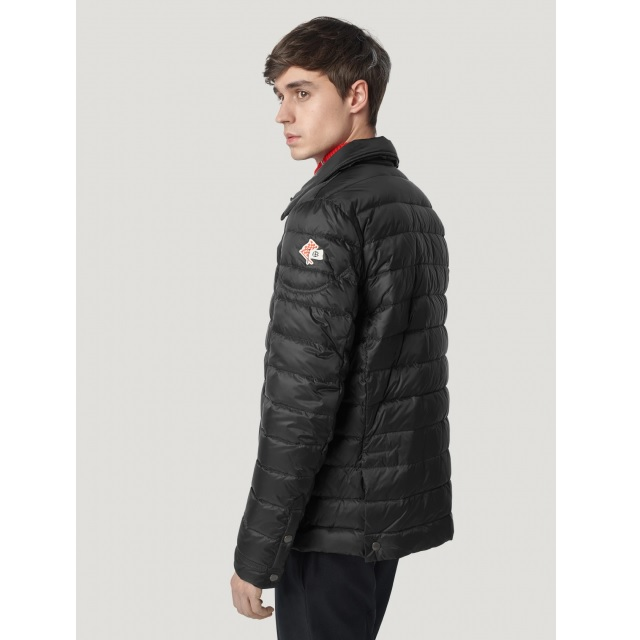 QUILTED DOWN JACKET BLACK