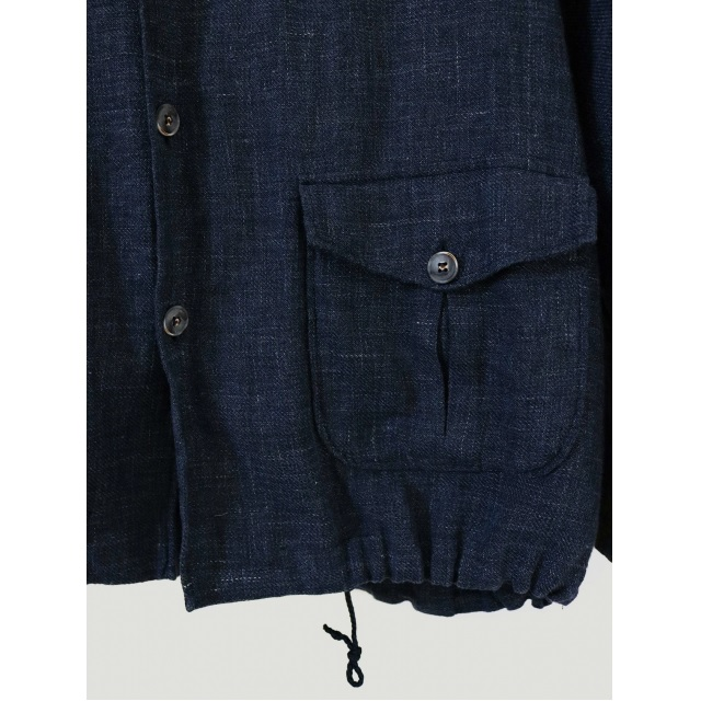 MIXED LINEN GIUBBINO JACKET