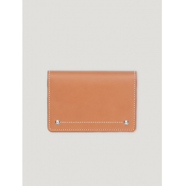 HEX FOLDED CARD CASE VEGI TAN
