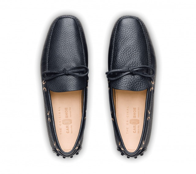 DRIVING SHOES GRAINED CALF NAVY