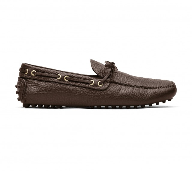 DRIVING SHOES GRAINED CALF BROWN