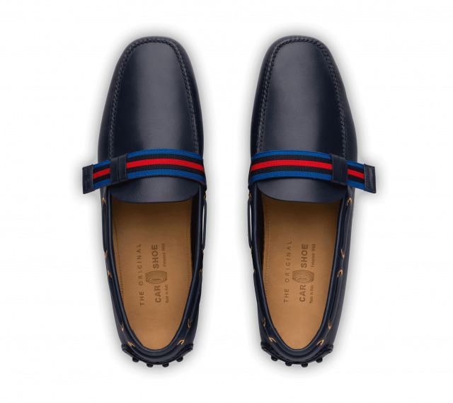DRIVING SHOES SOFT CALF NAVY