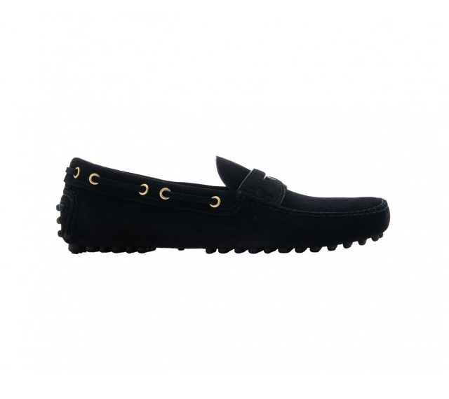 DRIVING SHOES SUEDE BLACK