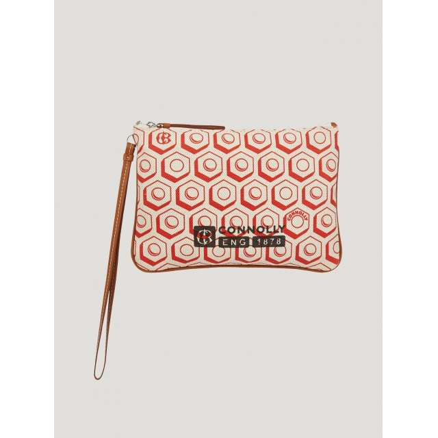 FLAT PRINTED POUCH (S) RED