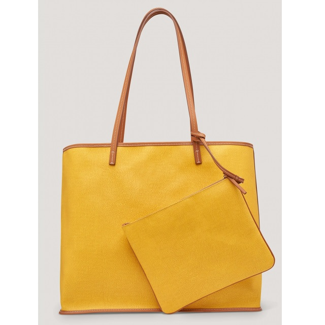 LARGE TOTE BAG YELLOW