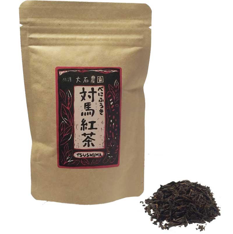 対馬紅茶(リーフタイプ)40g