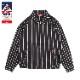 Delivery Jacket  「Stripe」 Black