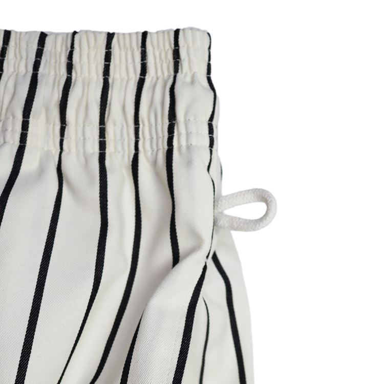 シェフパンツ Chef Pants Stripe White×Black