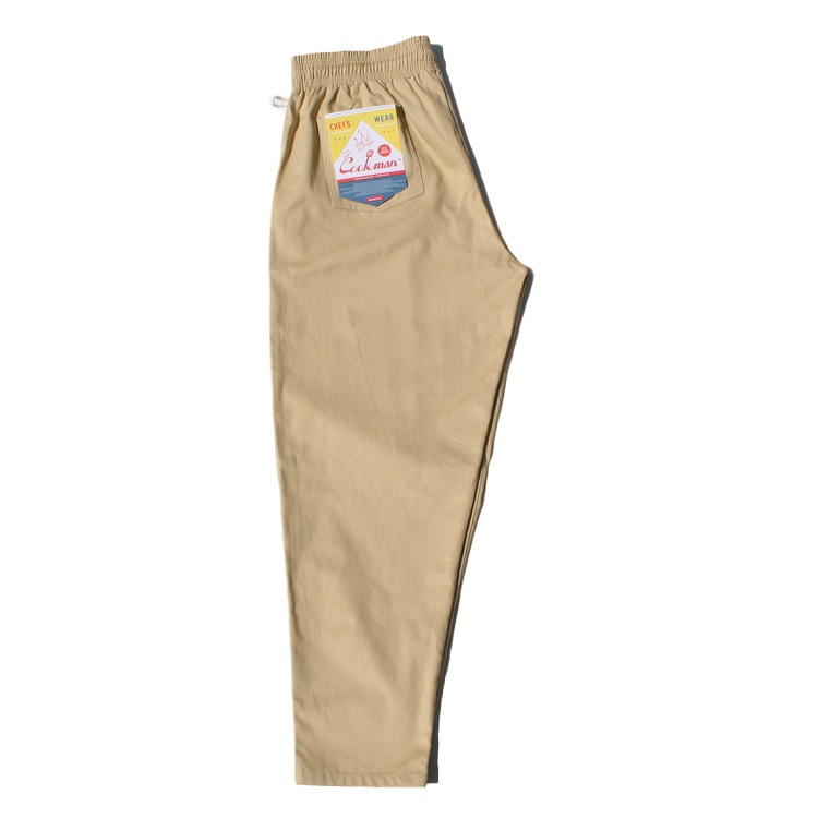 シェフパンツ Chef Pants Sand Plus Size