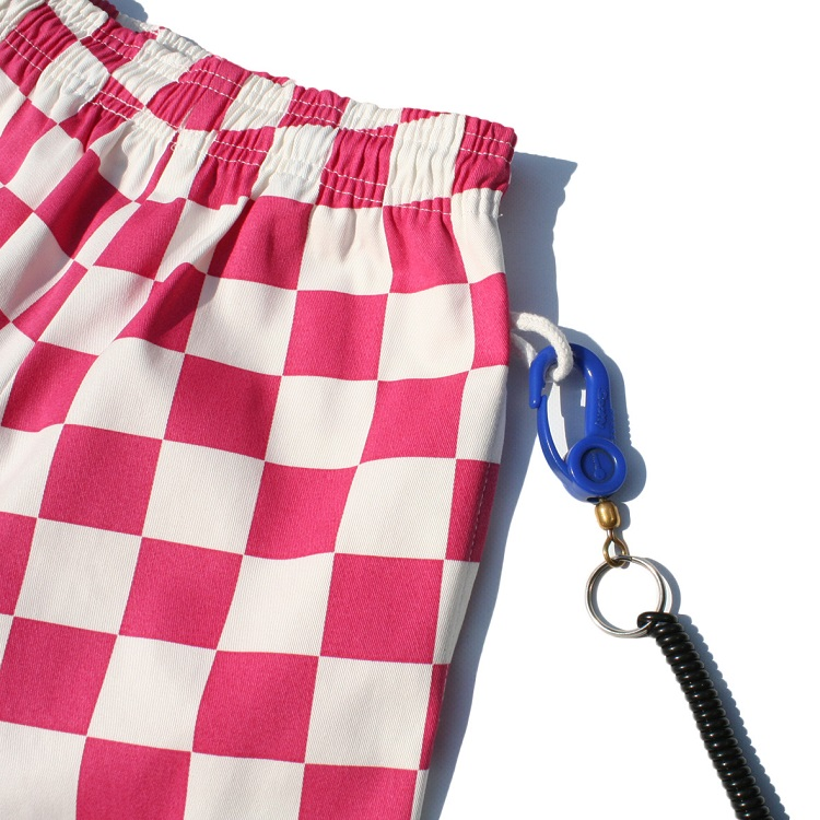 Chef Pants Kids 「Checker」 Pink