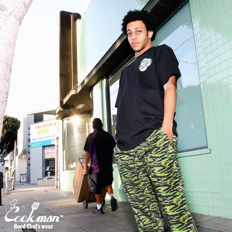 シェフパンツ Chef Pants Ripstop Camo Green (Tiger)