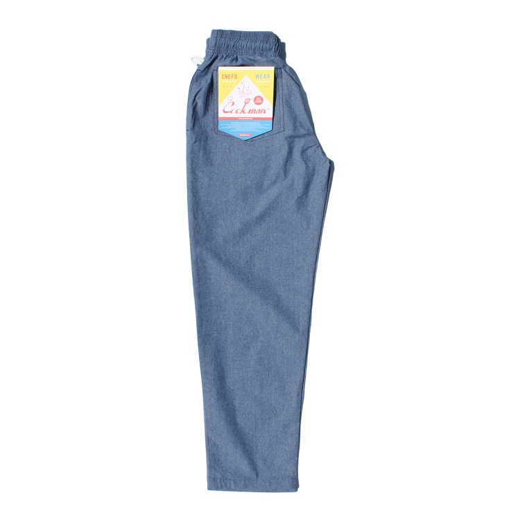 シェフパンツ Chef Pants Chambray Light Blue