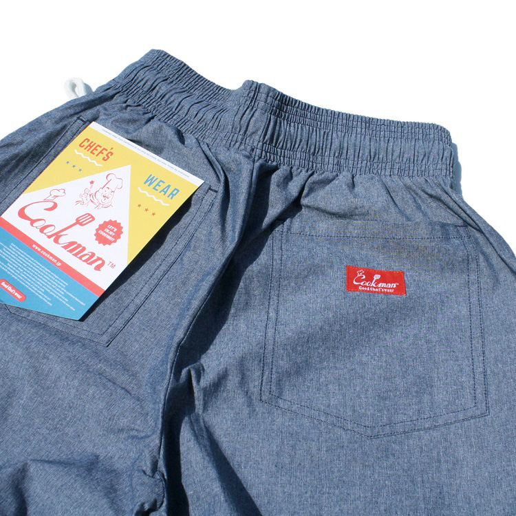 Chef Pants 「Chambray」 Blue