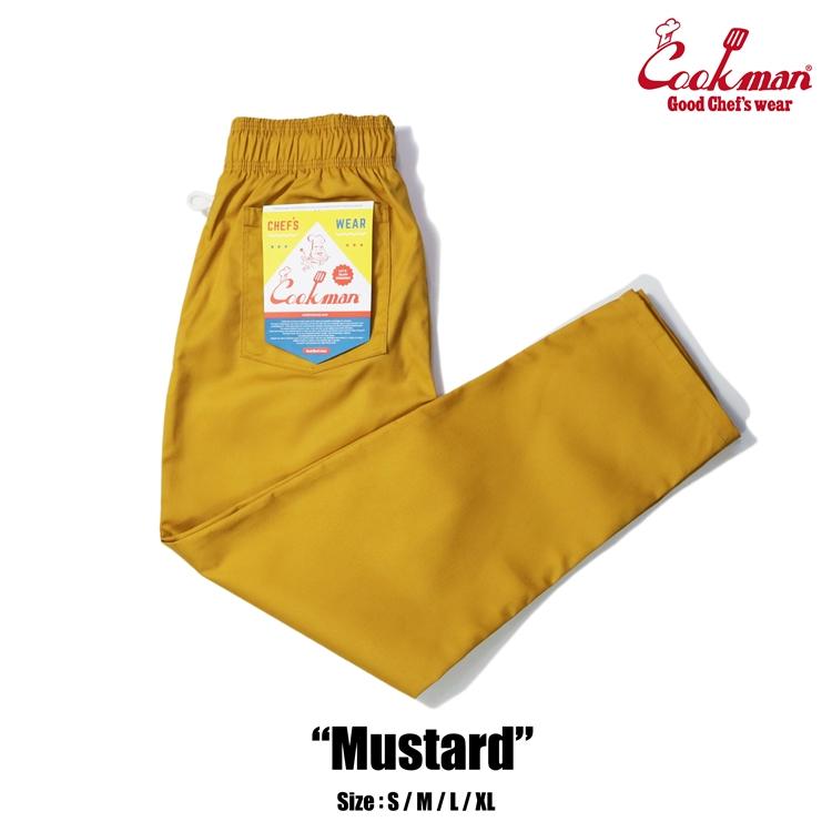 シェフパンツ Chef Pants Mustard