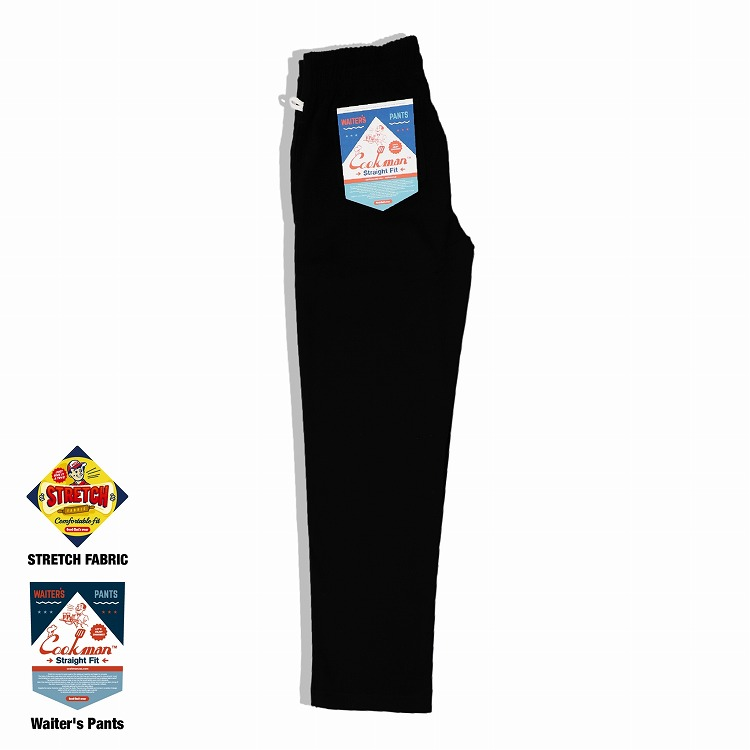 ウェイターズパンツ Waiter's Pants Black