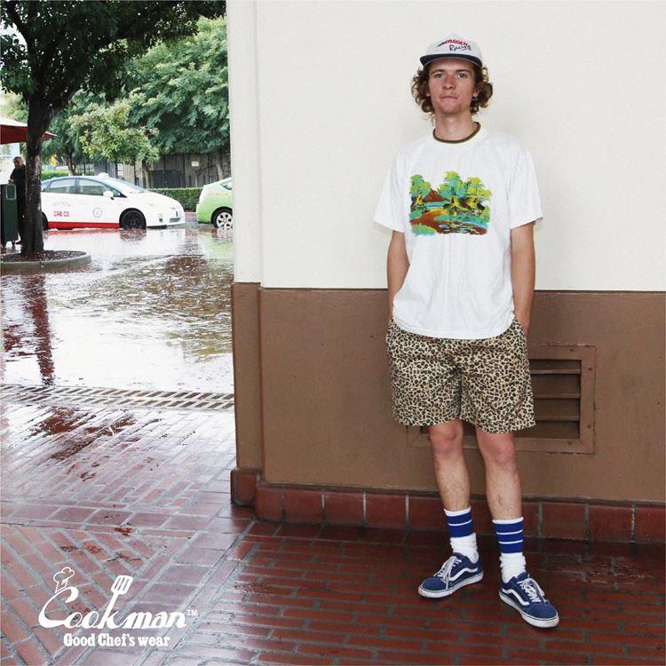 Chef Short Pants 「Leopard」