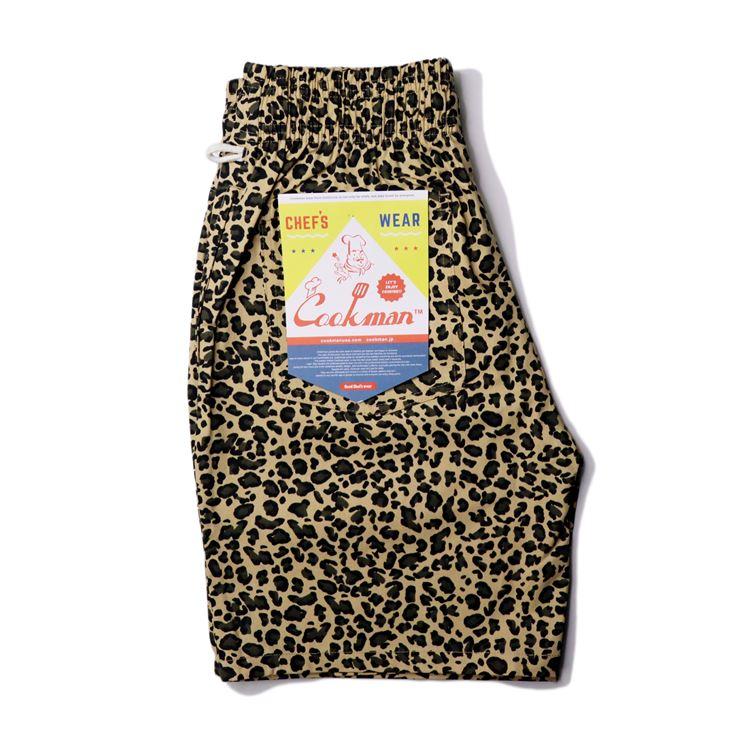 シェフパンツ Chef Pants Short Leopard