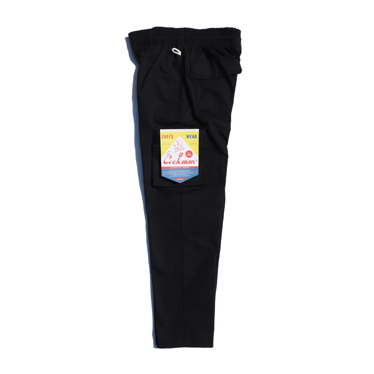 Chef Cargo Pants 「Ripstop」 Black