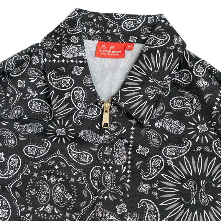 Delivery Jacket  「Paisley」 Black