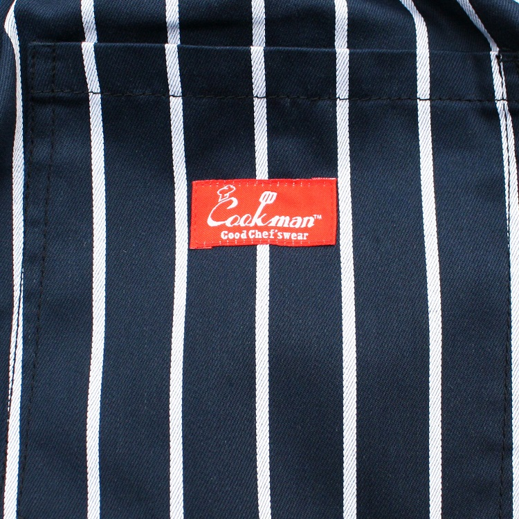 シェフパンツ Chef Pants Short Stripe Navy