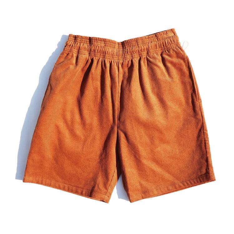 シェフパンツ Chef Pants Short Corduroy Brown