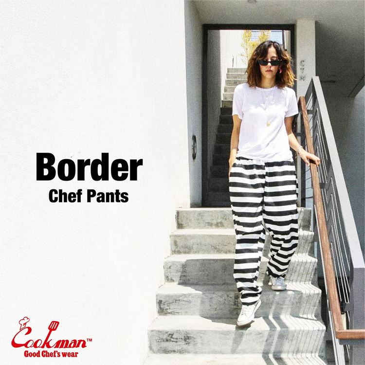 Chef Pants 「Border」