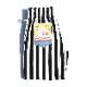 シェフパンツ Chef Pants Short Wide Stripe Black