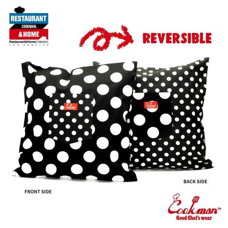 Cushion Pocket Cover Reversible 「Dots & Big Dots」
