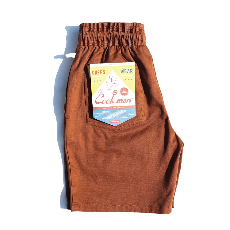 シェフパンツ Chef Pants Short Chocolate
