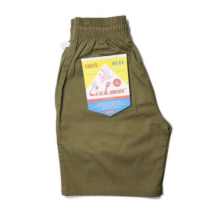 シェフパンツ Chef Pants Short Khaki